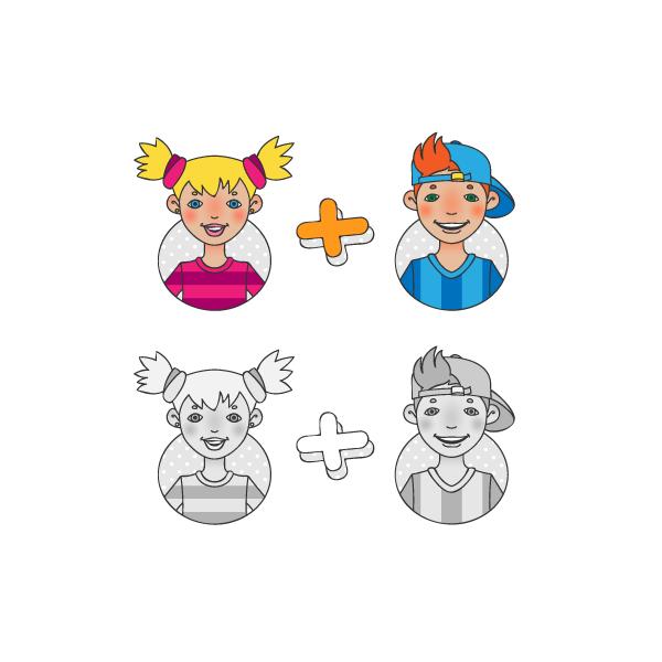kinder-grad-girl-boy